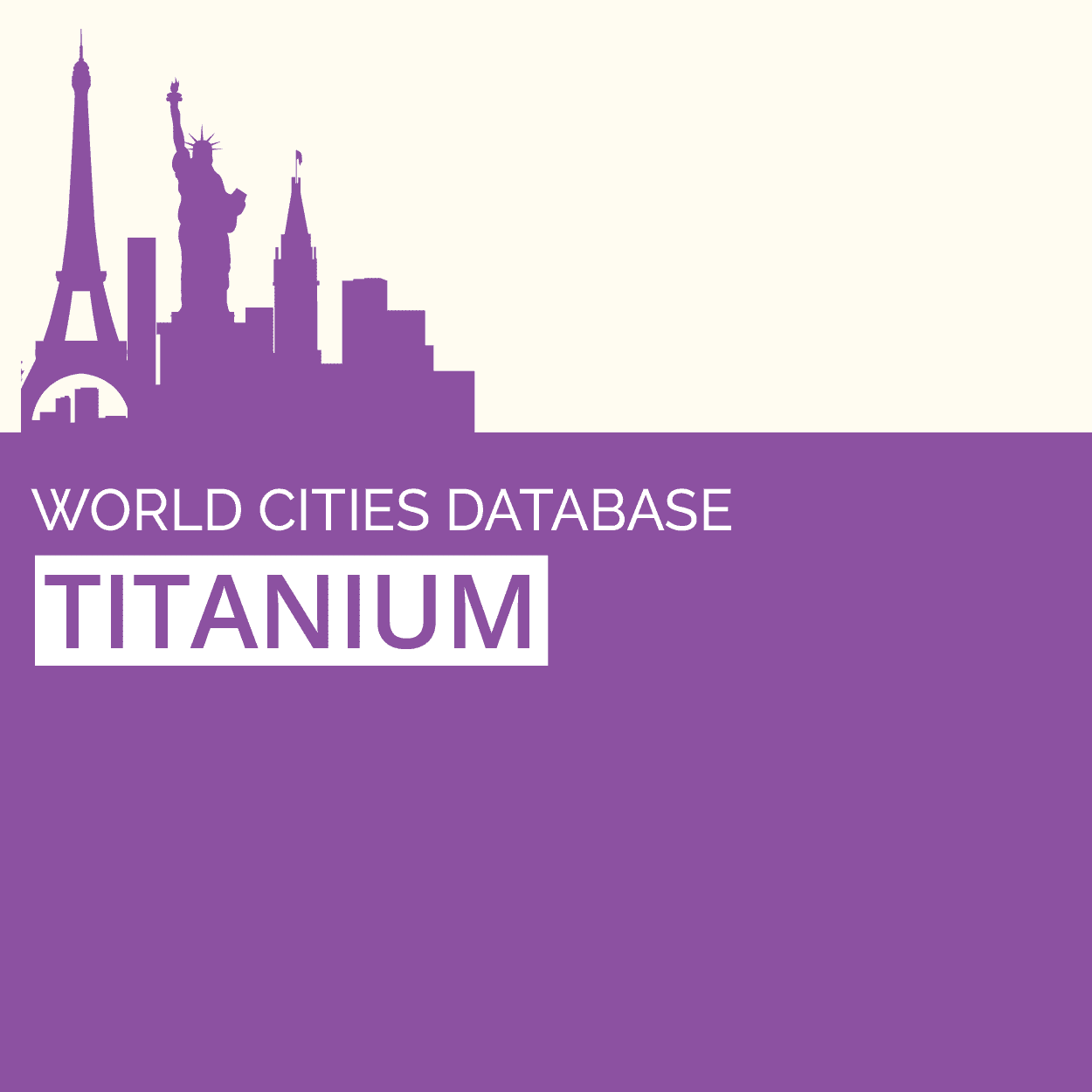 GeoDataSource World Cities Database (Titanium Edition) April.2013 full