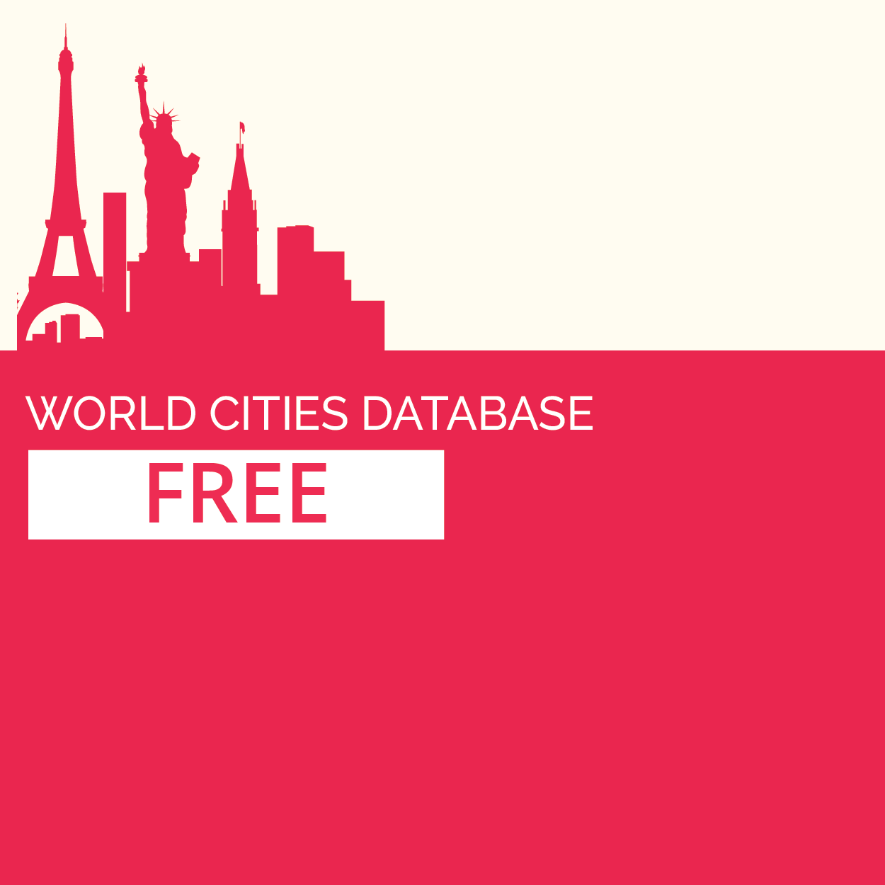 See more of GeoDataSource World Cities Database (Free Edition)