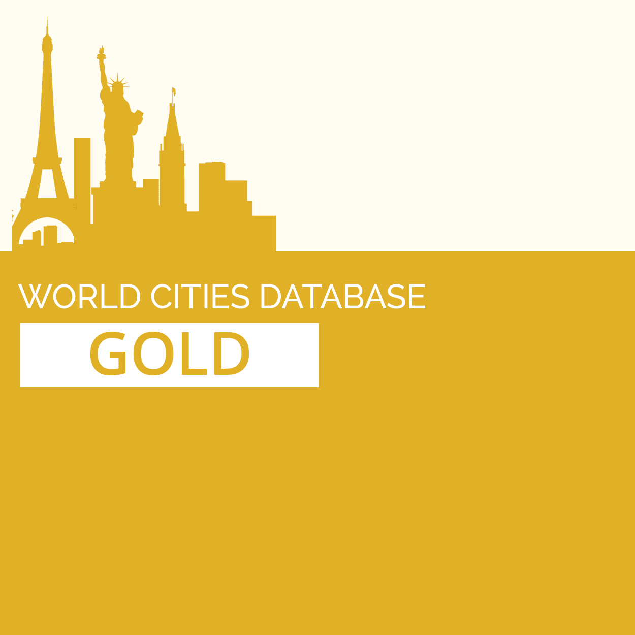 GeoDataSource World Cities Database (Gold Edition)