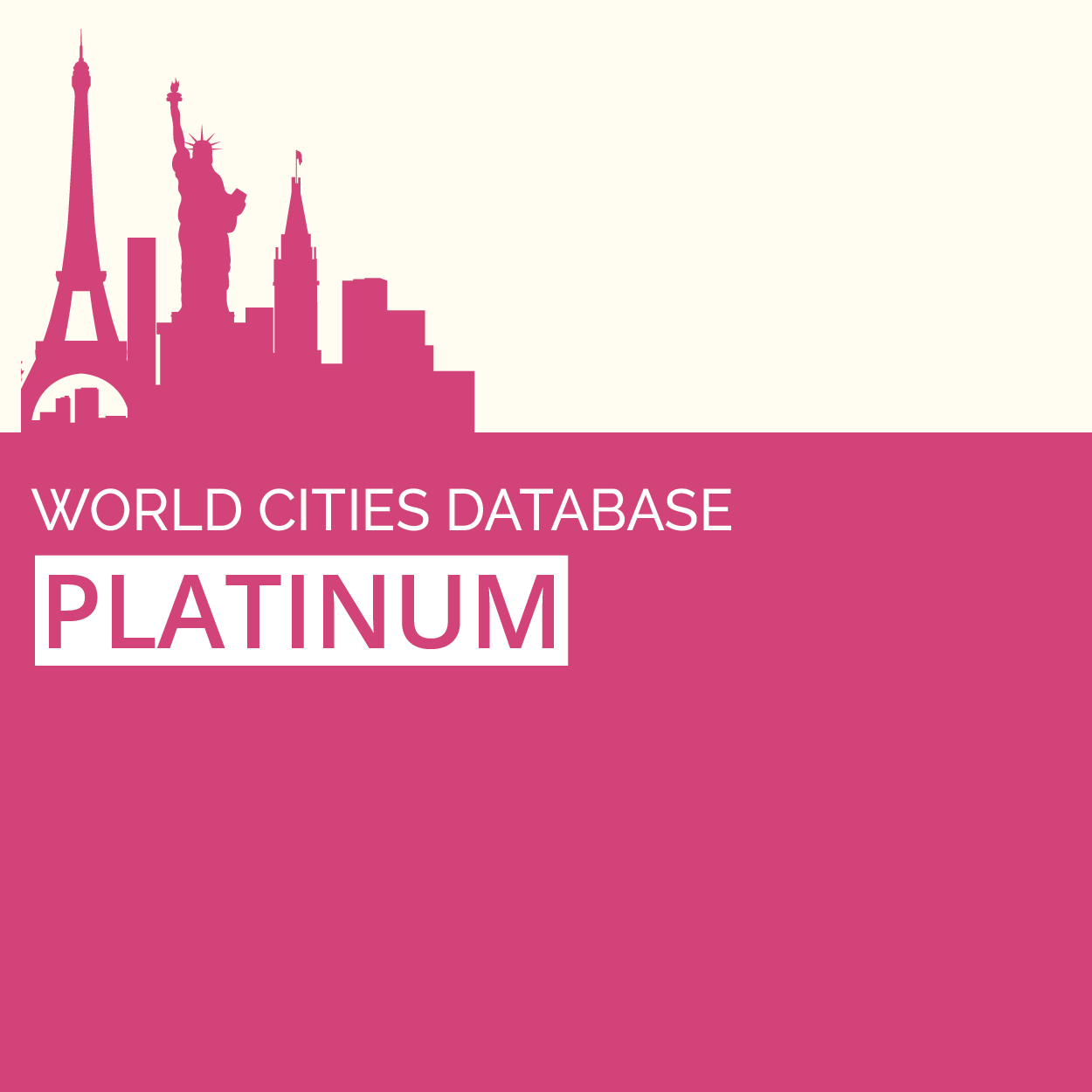 GeoDataSource World Cities Database (Platinum Edition) full screenshot