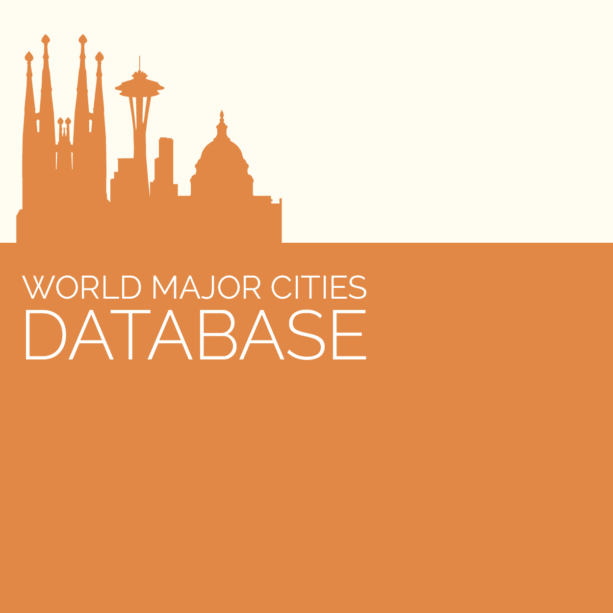 World Major Cities Database | GeoDataSource