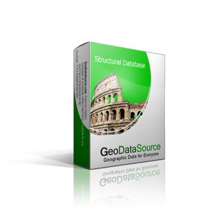 GeoDataSource™ World Structural Features Database Basic Edition ...